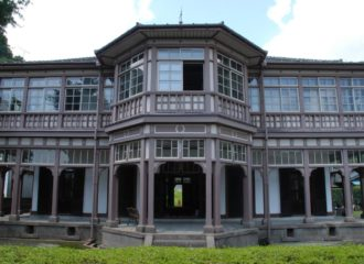 旧鹿児島紡績所技師館(異人館)