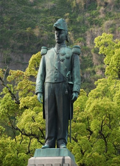 島津忠義公像