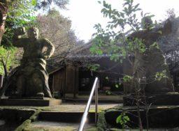庚申仁王石像