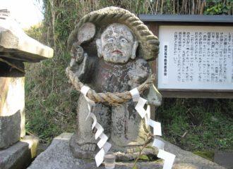 田之神石像
