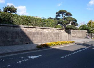 今和泉島津家本邸跡(篤姫誕生地)