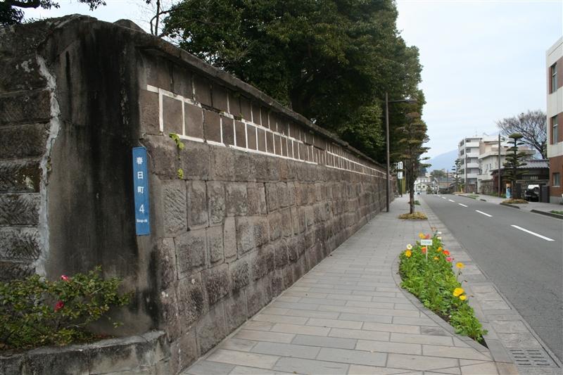 重富島津家本邸跡