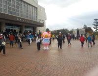 第38回ランニング桜島でかごしま国体・かごしま大会をPRしました