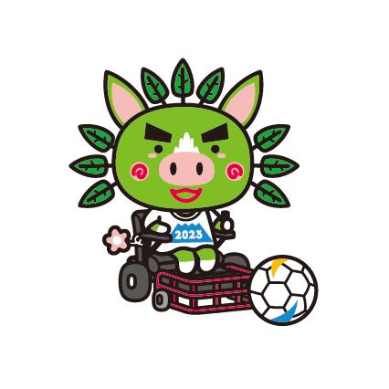 電動車椅子サッカー(パワーチェアーフットボール)(身)