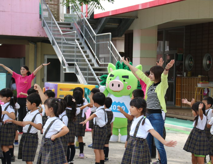 「かごしま元気BOX」(9月21日(金曜日)放送)で国体ダンスを紹介します!(はなぶさ幼稚園のみなさんが出演!)
