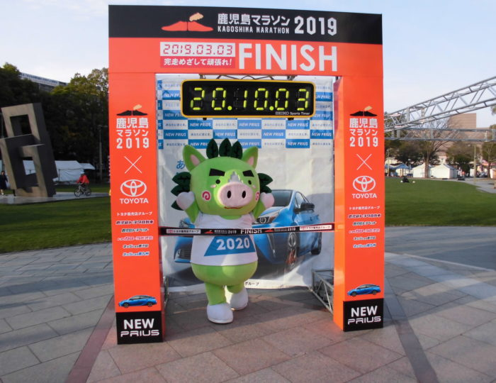 「鹿児島マラソン2019」でかごしま国体・大会のPRをしました!