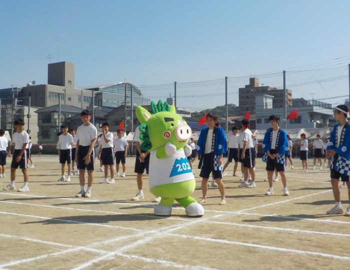 修学館中学校の運動会に行ってきました!