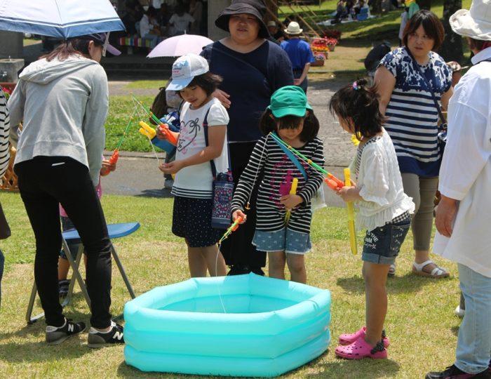 「錦江湾公園はなまつり」でかごしま国体・かごしま大会をPRしました!