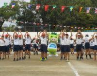 南小学校の運動会に行ってきました!!