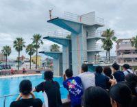 水泳(飛込)リハーサル大会を開催しました!!