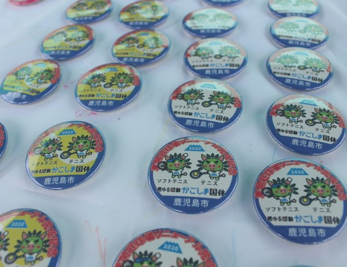 かごしま国体テニス・ソフトテニス競技会場の東開庭球場がリニューアル!